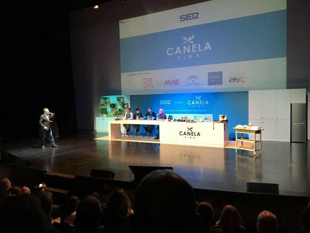 El show gastronómico 'Canela fina' llena la Sala Box de Sevilla