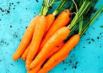 Las zanahorias: alimentos muy saludables y de temporada