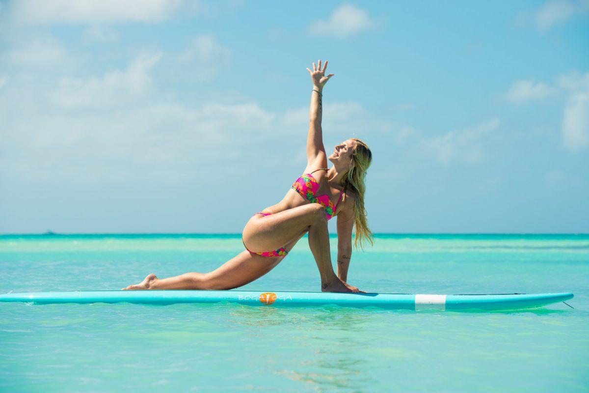 SUP Yoga: un deporte cada vez más practicado en verano
