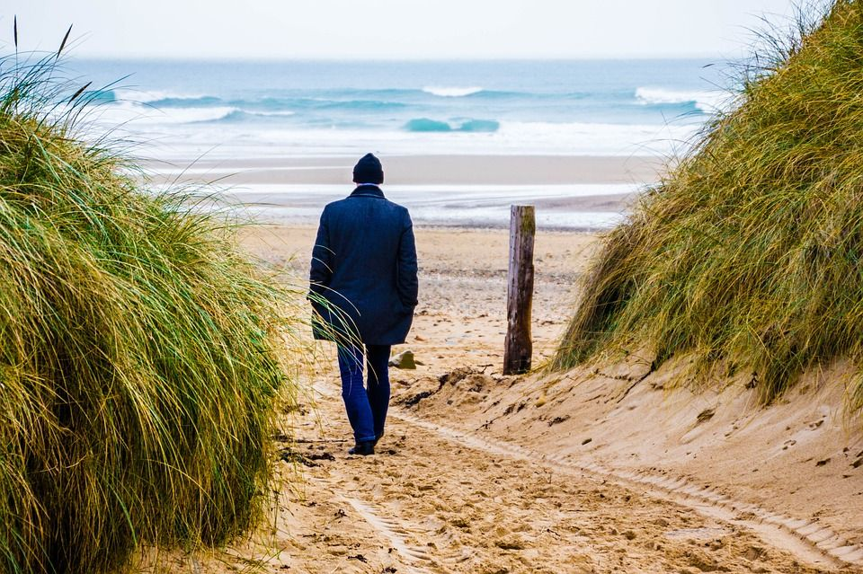 La playa, opción recomendable para desconectar también en invierno